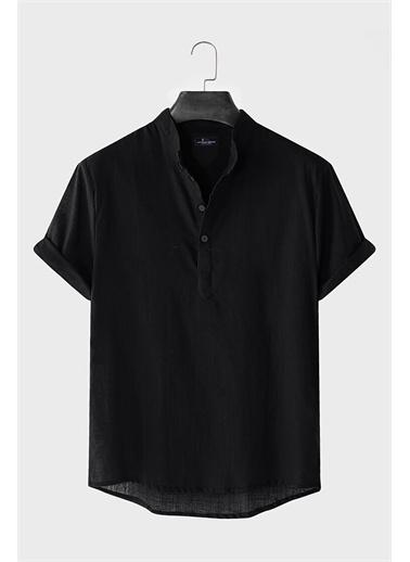 Oksit Gömlek Siyah
